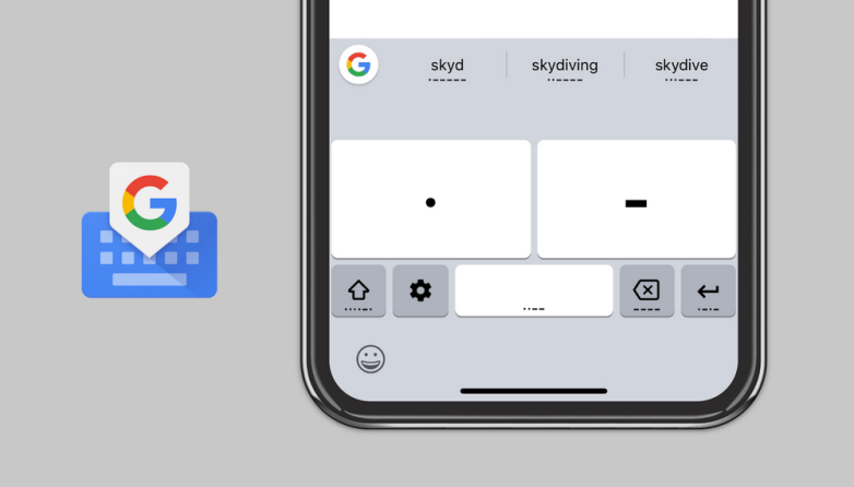 Gboard iOS Morse Code