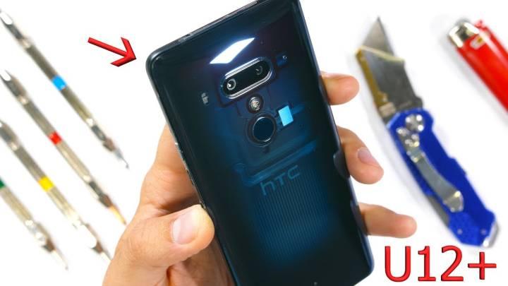 HTC U12 teardown