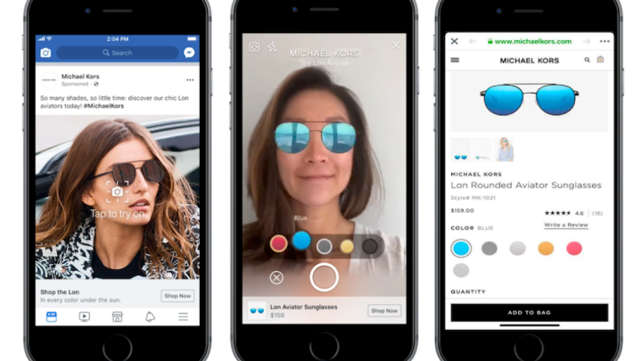 Facebook Augmented Reality Ads