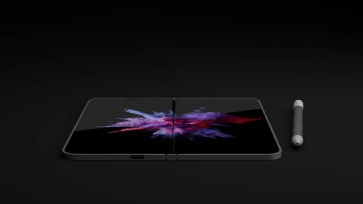 Dual-Screen Surface