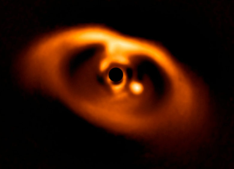 planet being born
