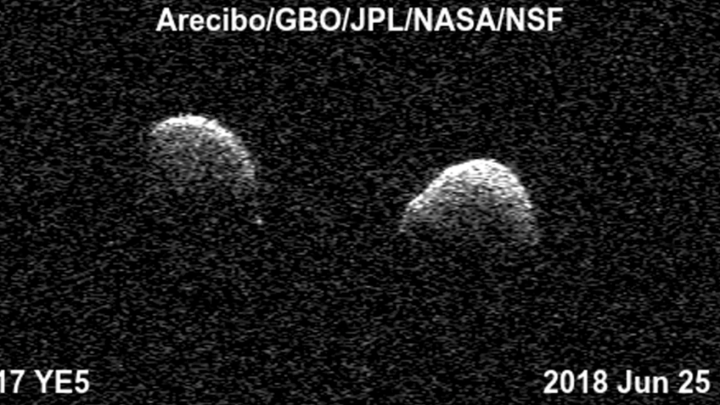 twin asteroids