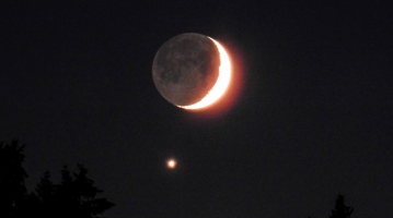 venus moon photos