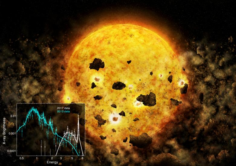 star destroying planet