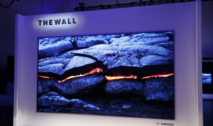 Samsung Launching Wall TV