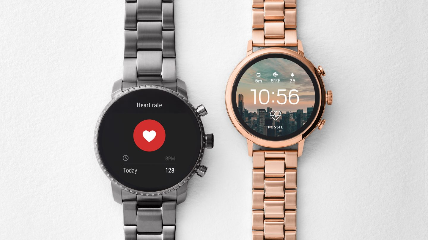 New Fossil smartwatches