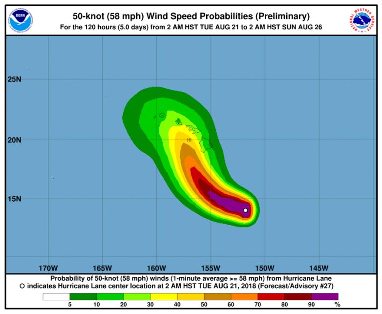 Hurricane Lane Hawaii: How to track
