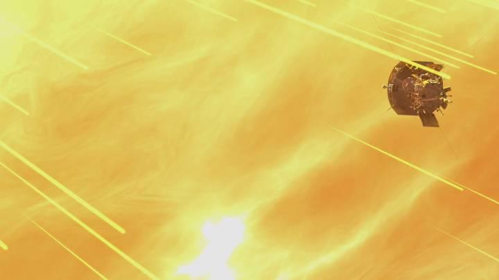parker solar probe speed