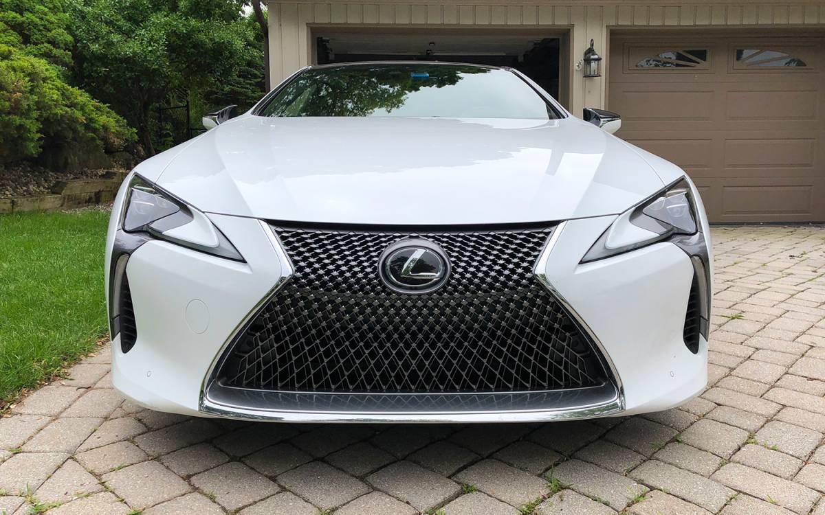 Lexus LC 500h Review