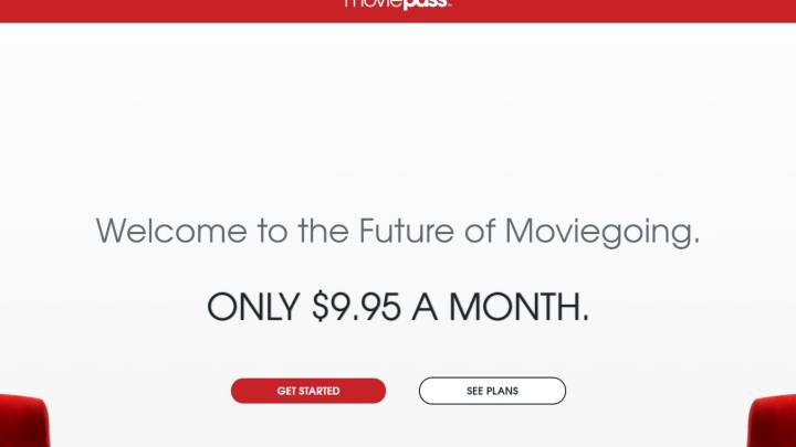 MoviePass annual plan