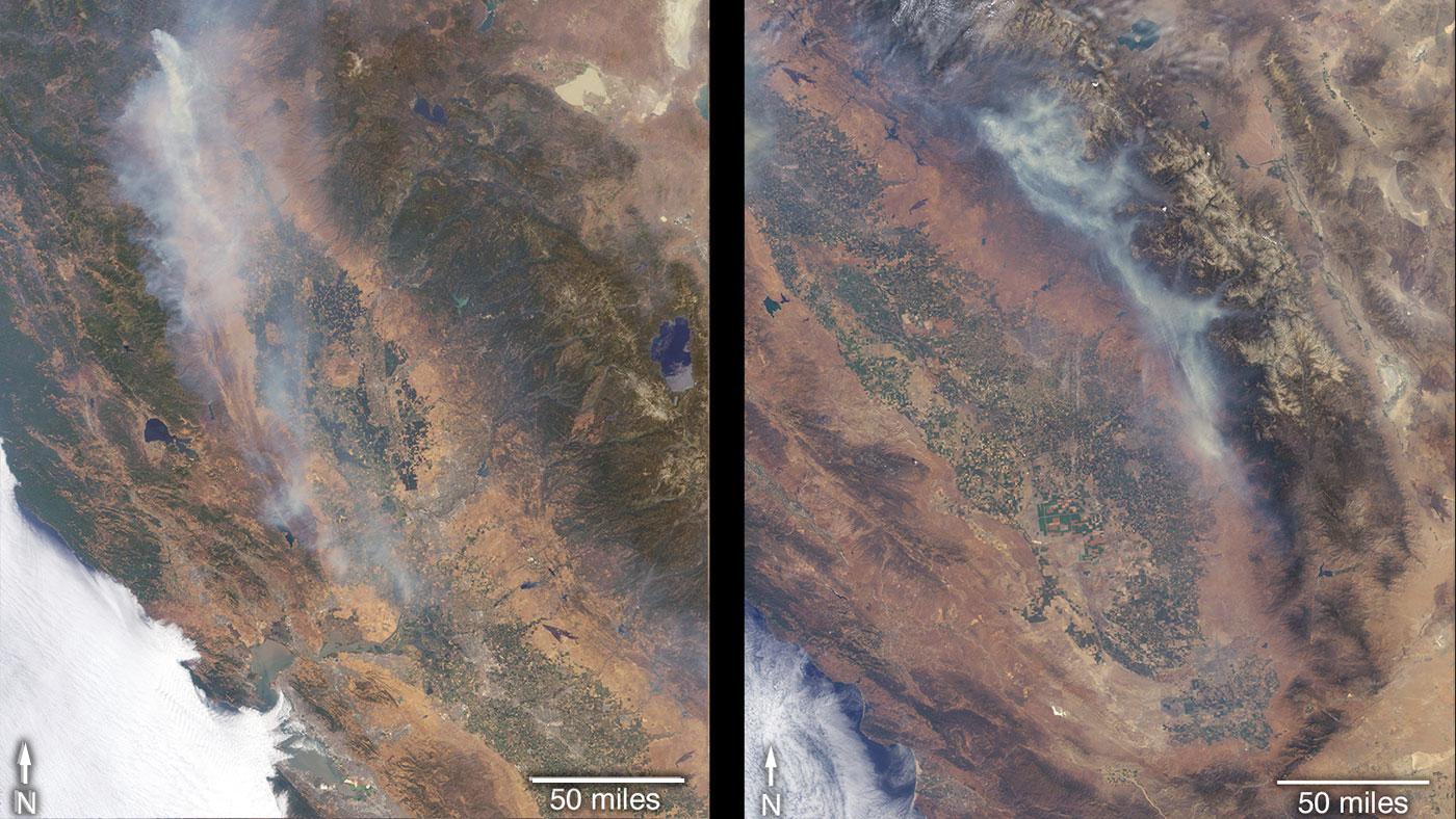 nasa wildfires