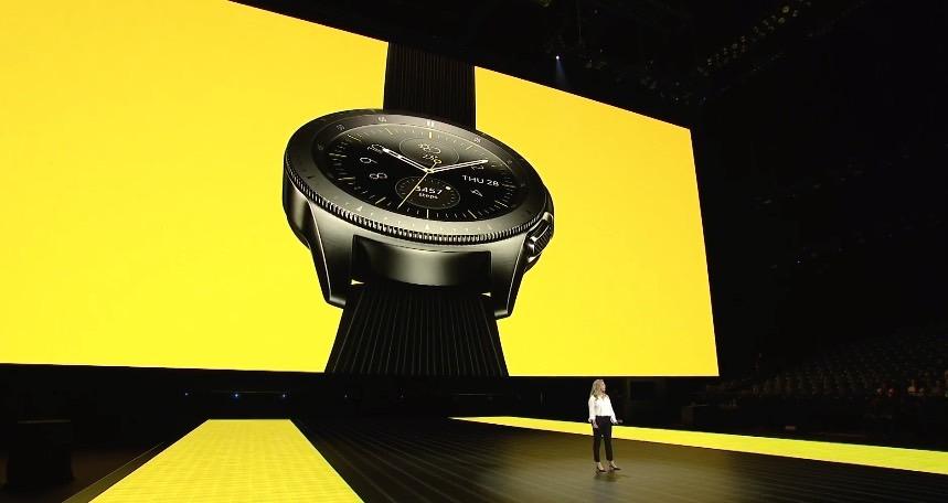 Samsung hybrid smartwatch patent