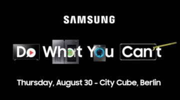 Samsung IFA 2018 press conference