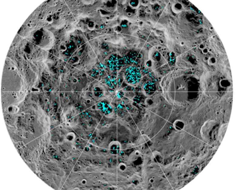 water on the moon