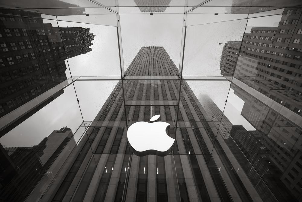 Apple 1 trillion valuation share price