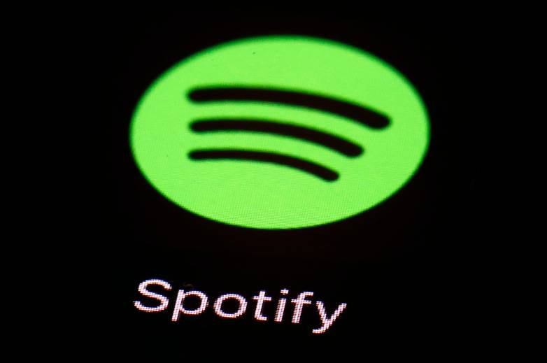 Spotify in-car music player