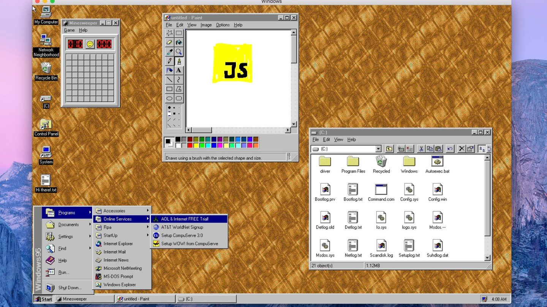 Windows 95 free app