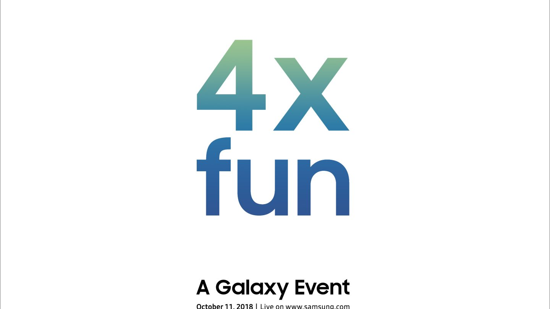 Samsung 4x fun event