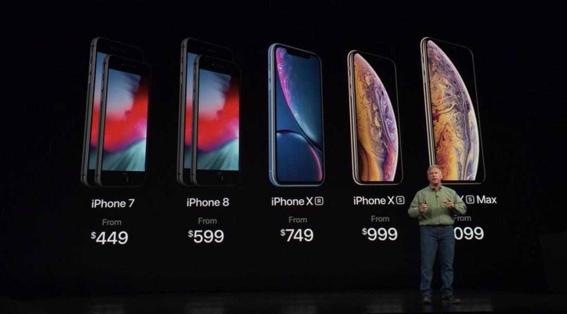 iPhone XS Max vs. iPhone X
