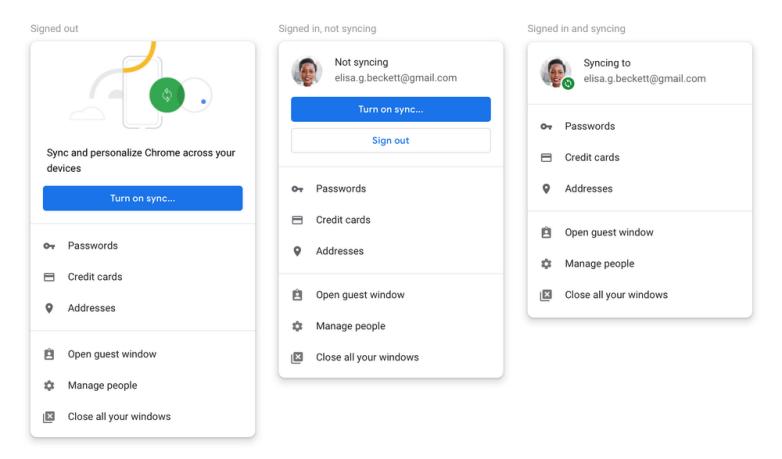 Google Chrome automatic login