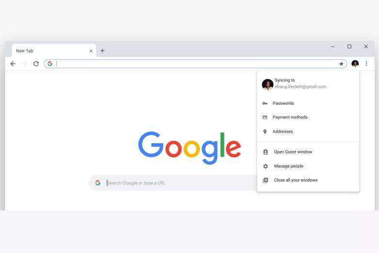 Chrome redesign