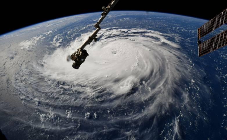 hurricane florence international space station
