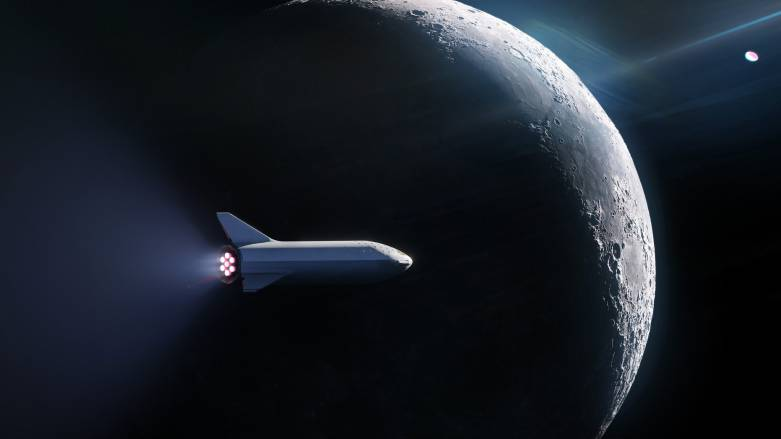 spacex moon passenger