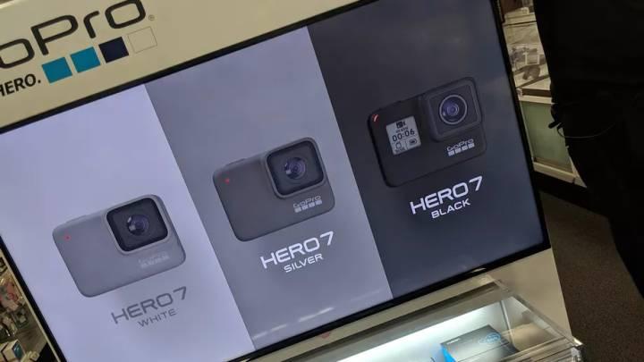 GoPro Hero 7 camera leak