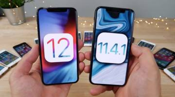 iOS 12 Speed Test