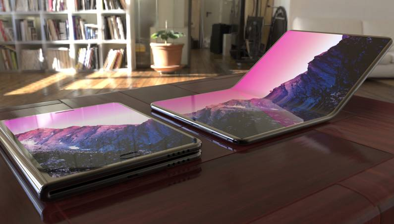 Lenovo Foldable Tablet