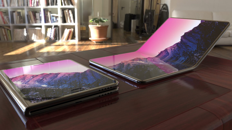 Galaxy F vs. Huawei foldable phone