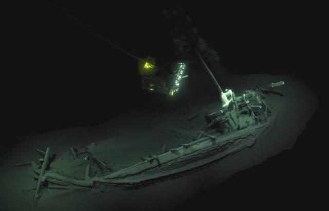 black sea shipwreck
