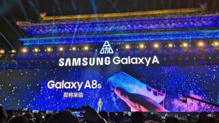 Samsung all screen phone