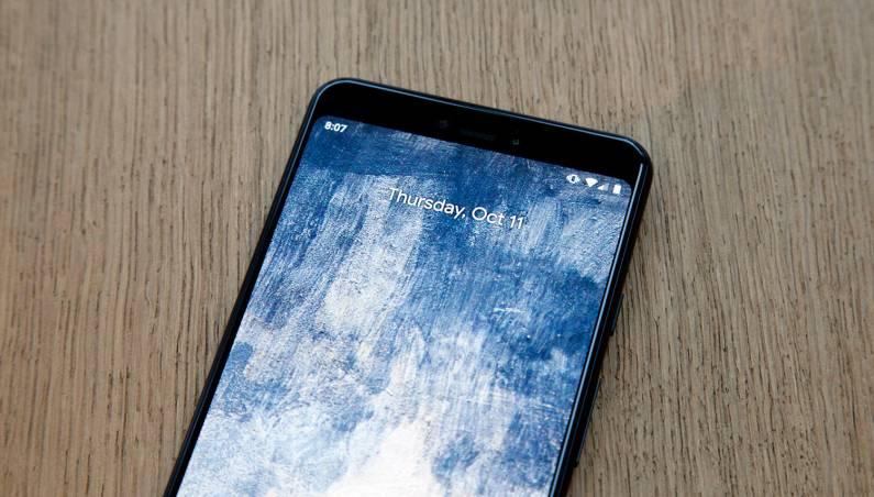 Pixel 3 XL Notch Off