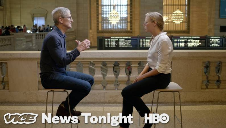 Tim Cook HBO interview