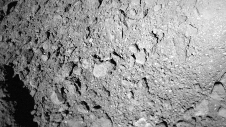 Ryugu Asteroid Photo