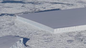 square iceberg