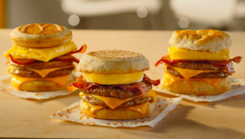 mcdonalds breakfast triple stacks