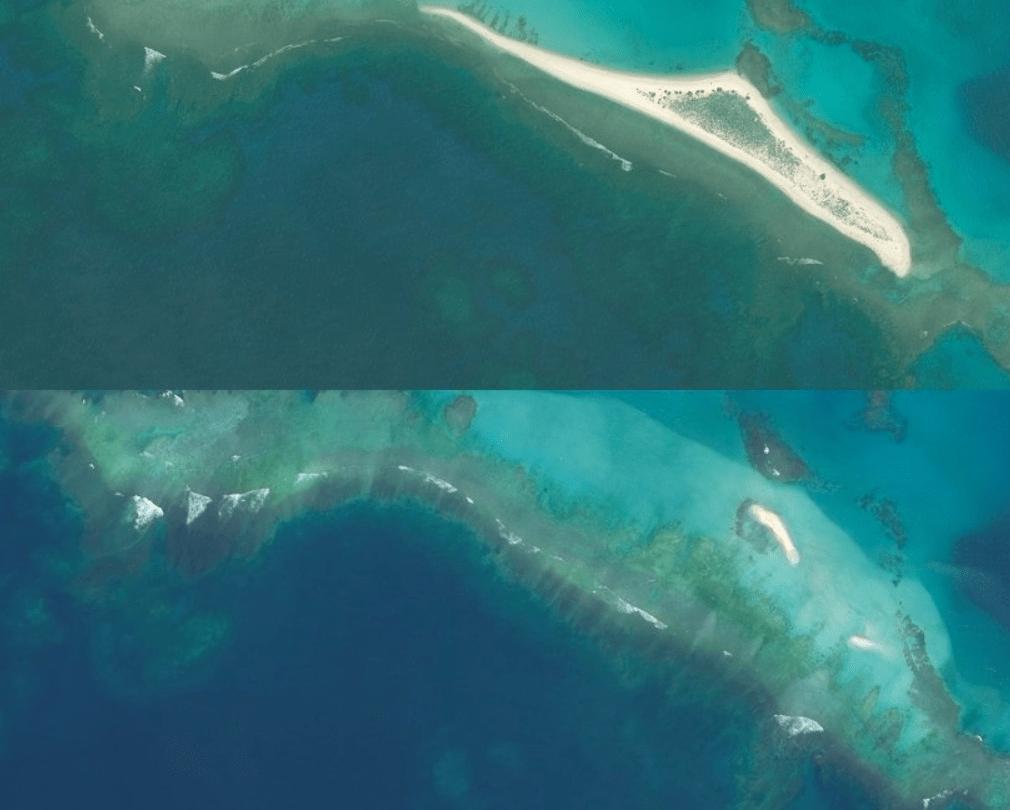 island disappeared