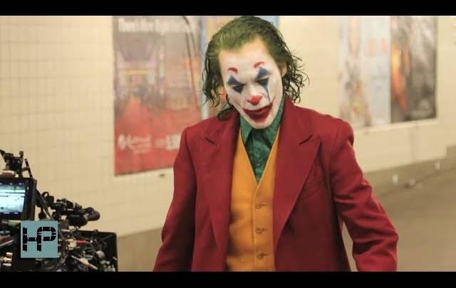 Joker set footage