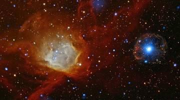 Galaxies collide