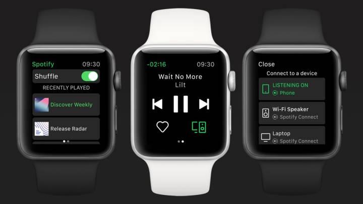 Spotify Apple Watch app debuts