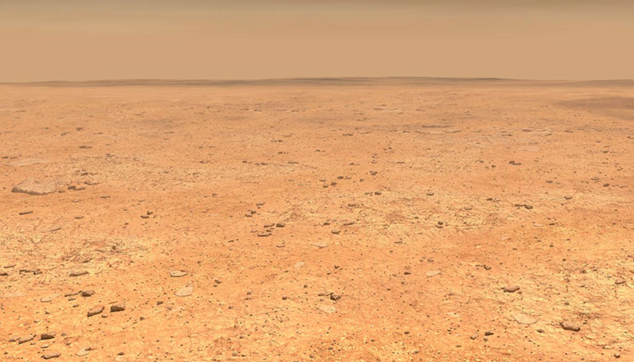 NASA's Mars rover spots a Martian dust devil
