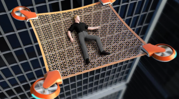 net guard drone concept