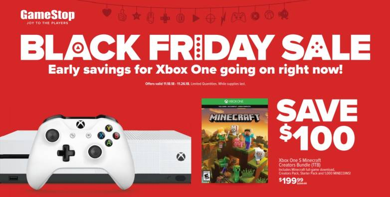 GameStop Black Friday 2018 ad