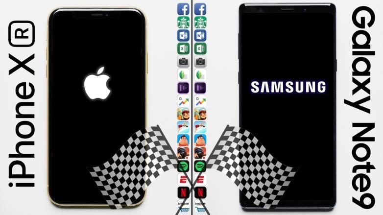 iPhone XR vs. Galaxy Note 9