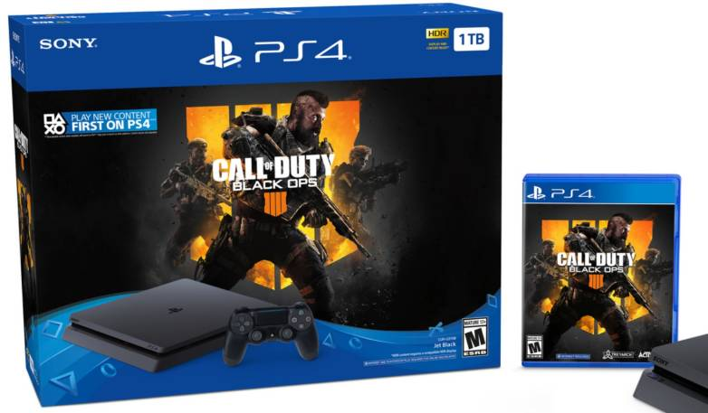 Sony Reveals Black Ops 4 Ps4 Bundle In Honor Of The Console S