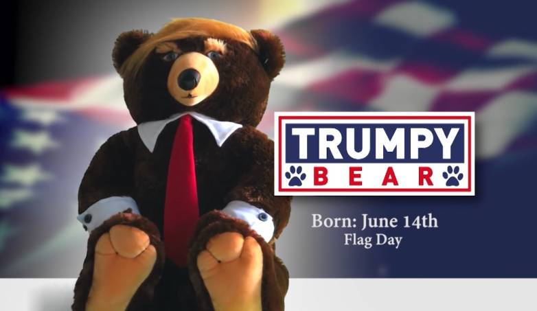 Trumpy Bear Commercial