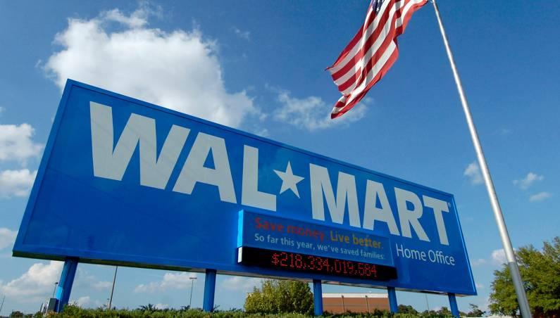 Walmart robots in stores