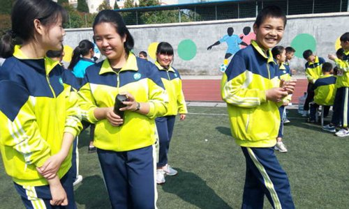 Chinese school uniforms